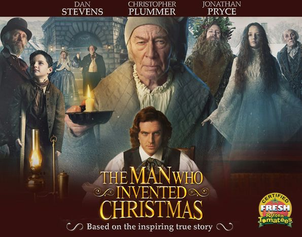 the man who invented christmas official site