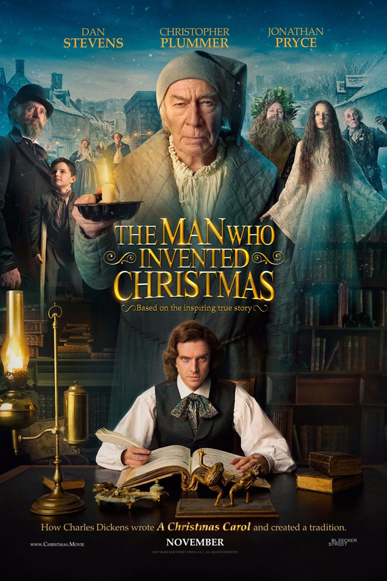 The Man Who Invented Christmas - Official Site